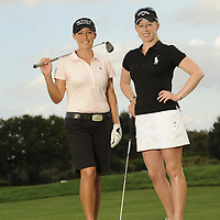 Nov 15, 2011 -- Orlando, FL, U.S.A. -- The story is on MORGAN PRESSEL and CRISTIE KERR, two LPGA tour stars, who are doing tons of things as breast cancer activists, among them raising millions of dollars. -- ...Photo by Preston C. Mack .