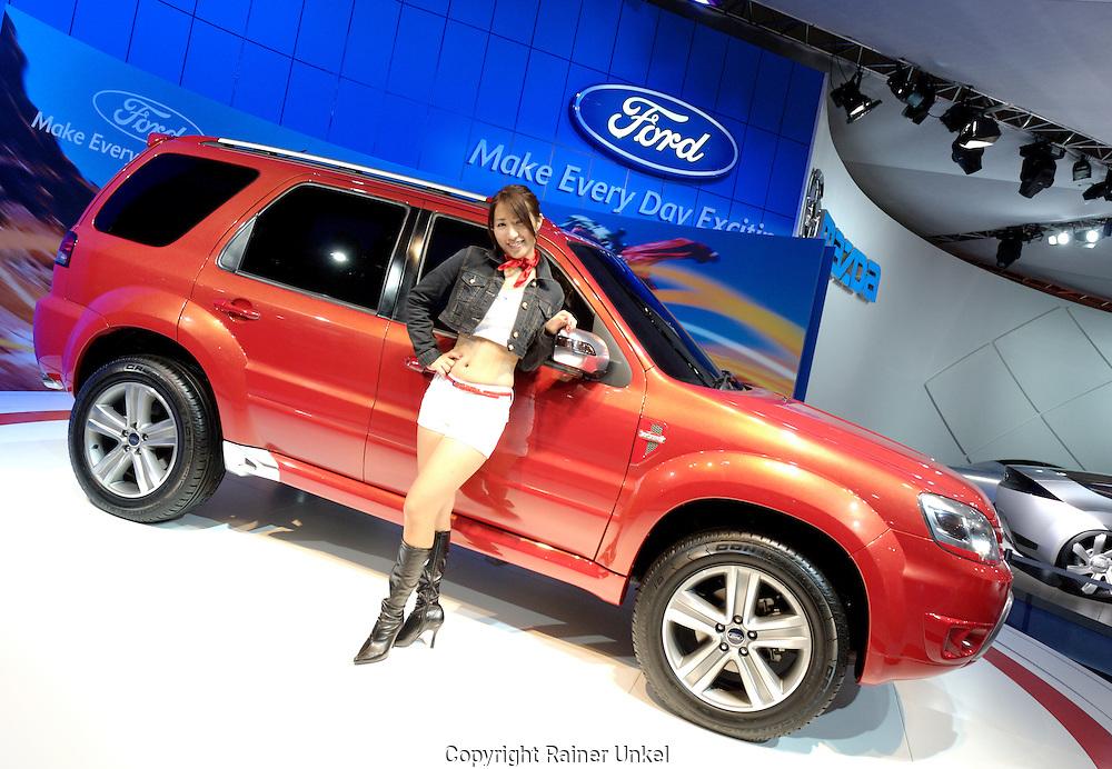 JAPAN : Tokyo Motor Show in Tokio.   JAPAN : Tokyo Motor Show.   25.10.2007.    Copyright by : Rainer UNKEL , Tel.: (0)228/477211, Fax: (0)228/477212