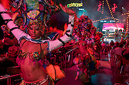 Havana, Cuba, showgirls at the Tropicana