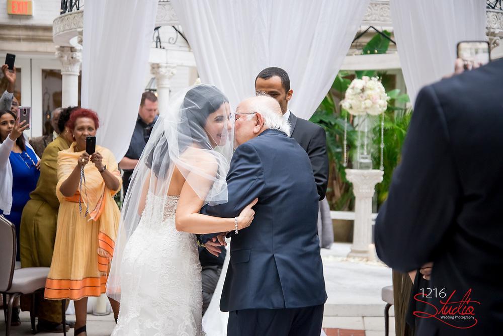 Nebiyu & Nada Wedding Photography Samples   Ritz Carlton New Orleans   1216 Studio Wedding Photography