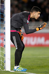 09.04.2016, Estadio de Anoeta, San Sebastian, ESP, Primera Division, Real Sociedad vs FC Barcelona, 32. Runde, im Bild Real Sociedad's Geronimo Rulli // during the Spanish Primera Division 32th round match between Real Sociedad and FC Barcelona at the Estadio de Anoeta in San Sebastian, Spain on 2016/04/09. EXPA Pictures © 2016, PhotoCredit: EXPA/ Alterphotos/ Acero<br /> <br /> *****ATTENTION - OUT of ESP, SUI*****