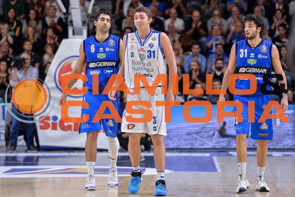 Michele Ebeling<br /> Dinamo Banco di Sardegna Sassari - Germani Basket Brescia Leonessa<br /> Lega Basket Seire A 2016/2017<br /> Sassari 15/10/2016<br /> Foto Ciamillo-Castoria