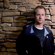 """Actor Billy Boyd who played Peregrin """"Pippin"""" Took, one of the hobbits in the Lord of the Rings, poses for his portrait on the fourth day of the Sundance Film Festival Sunday, Jan. 23, 2005 in Park City, Utah. August Miller"""