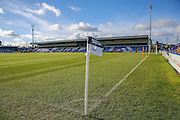General Stadium view during the FA Trophy match between Macclesfield Town and Forest Green Rovers at Moss Rose, Macclesfield, United Kingdom on 4 February 2017. Photo by Shane Healey.