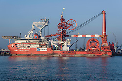 Lewek Constellation, 9629756, EMAS, Pipelay and construction vessel, Schiedam, Netherlands
