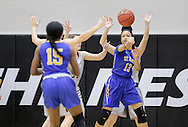 January 7, 2017: The St. Mary's University Rattlers play against the Oklahoma Christian University Lady Eagles in the Eagles Nest on the campus of Oklahoma Christian University.