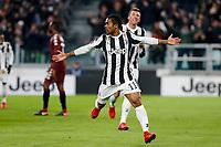 Juventus-Torino - Quarti di finale Tim Cup - Nella foto:  Douglas Costa esulta dopo il gol