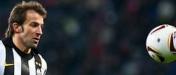 21.10.2010, Red Bull Arena, AUT, UEFA EL, FC Salzburg (AUT) vs Juventus Turin (ITA) , im Bild Alessandro Del Piero,(Juventus Turin, Forward, #10), EXPA Pictures © 2010, PhotoCredit: EXPA/ J. Feichter