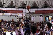 Jonathan Arledge<br /> Unicusano Roma - Benacquista Assicurazioni Latina<br /> Campionato Basket LNP 2016/2017<br /> Roma 06/11/2016<br /> Foto Ciamillo-Castoria