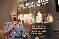 Repro  Free: Kim Walsh Schneider Electric at  ITAG Members Update evening where some of the Nominees pitched their projects.   <br /> The ITAG Excellence Awards will take place on  November 17th Hotel Meyrick, Eyre Square, Galway.<br /> Winners in the following categories will be announced: <br />     New Talent of the Year Award<br />     Digital Woman Awards<br />     Emerging Technology Start Up Award<br />     Leadership Award<br />     Technology Innovation of the Year Award<br />     Digital Project Award<br />     ITAG Digital Enterprise Award &lt; 50 Employees<br />     ITAG Digital Enterprise Award &gt; 50 Employees.<br />  <br />  Photo:Andrew Downes, xposure.