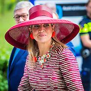 Koningin Maxima  van de start van de landelijke activiteitenweek Kansen Krijgen Kansen Pakk