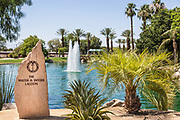 The Walter H. Snyder Lagoon at Palm Desert Civic Center Park