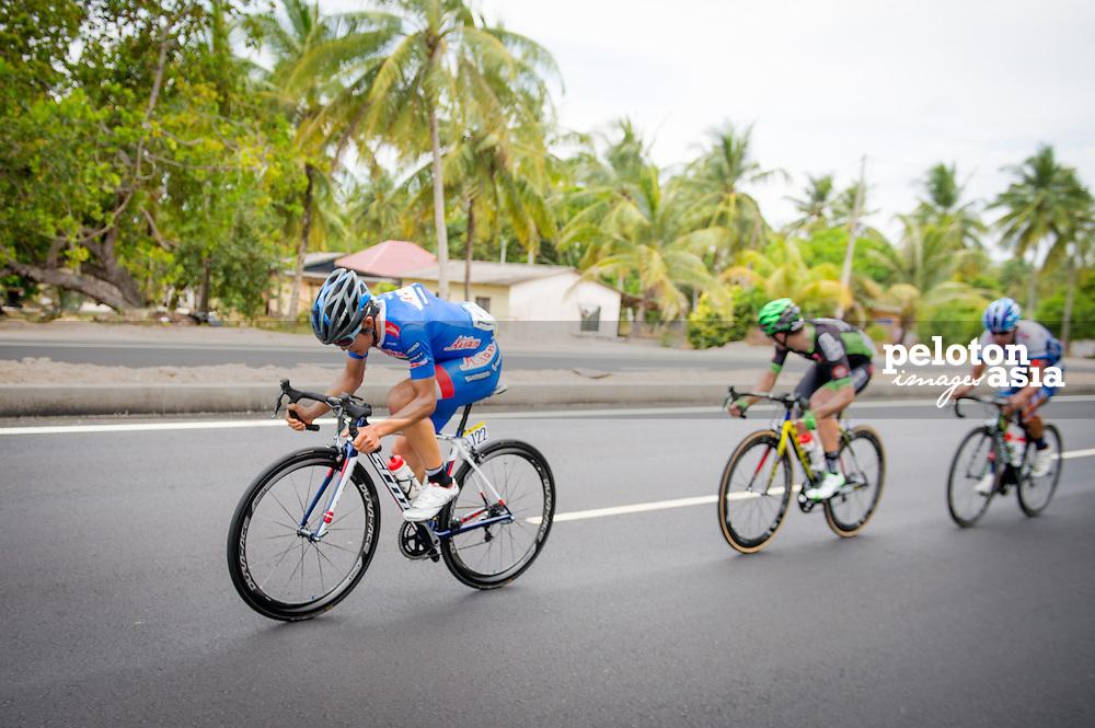Le Tour de Langkawi 2015/ Stage5/ Kuala Terengganu -Kuanta/Aisan Racing/ Nakajima Yasuharu