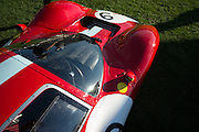August 14-16, 2012 - Pebble Beach / Monterey Car Week. 1967 Ferrari 412p