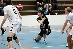 19-01-2013 VOLLEYBAL: EREDIVISIE PRINS VCV - TILBURG STV : VEENENDAAL<br /> Frits van Gestel, Tilburg STV<br /> &copy;2012-FotoHoogendoorn.nl / Pim Waslander