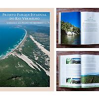 LIVRO PERV<br /> Livro que fala sobre o Parque do Rio Vermelho e a proposta de manejo que o cliente, o GIPEDU (Grupo Interdisciplinar de Pesquisa em Ecologia e Desenho Urbano), e os moradores do entorno do Parque desenvolveram.<br /> Funcionando como relat&oacute;rio, foram diagramadas para a publica&ccedil;&atilde;o muitas tabelas e mapas.