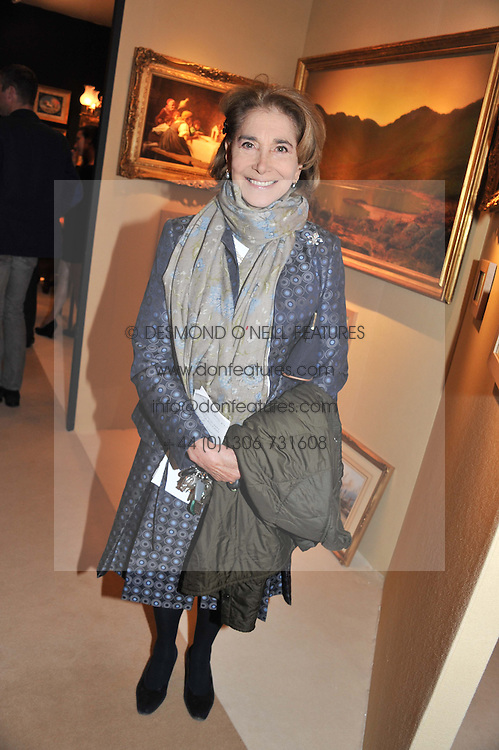 BARONESS RAWLINGS at a preview evening of the annual London LAPADA (The Association of Art & Antiques Dealers) antiques Fair held in Berkeley Square, London on 18th September 2012.