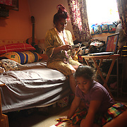 """""""Alya, my daughter has to do her homework on the bed.She needs a proper,but there is no space for one. The flat is too small and it is that small that we have an issue of the kind:Don't stand on the hallway! and we enter into a lot of arguments because of that."""" Linda, June 2013"""