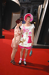 JAIME WINSTONE and GRAYSON PERRY at the Royal Academy of Art Summer Exhibition Preview Party on 4th June 2008.<br />