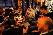 Shannonbridge, traditional Irish misic at  the Killeens pub.