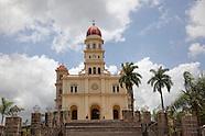 Santiago de Cuba towns and countryside, Cuba.