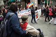 Milano, 25 aprle 2015. 70esimo anniversario della Liberazione. Partigiano.