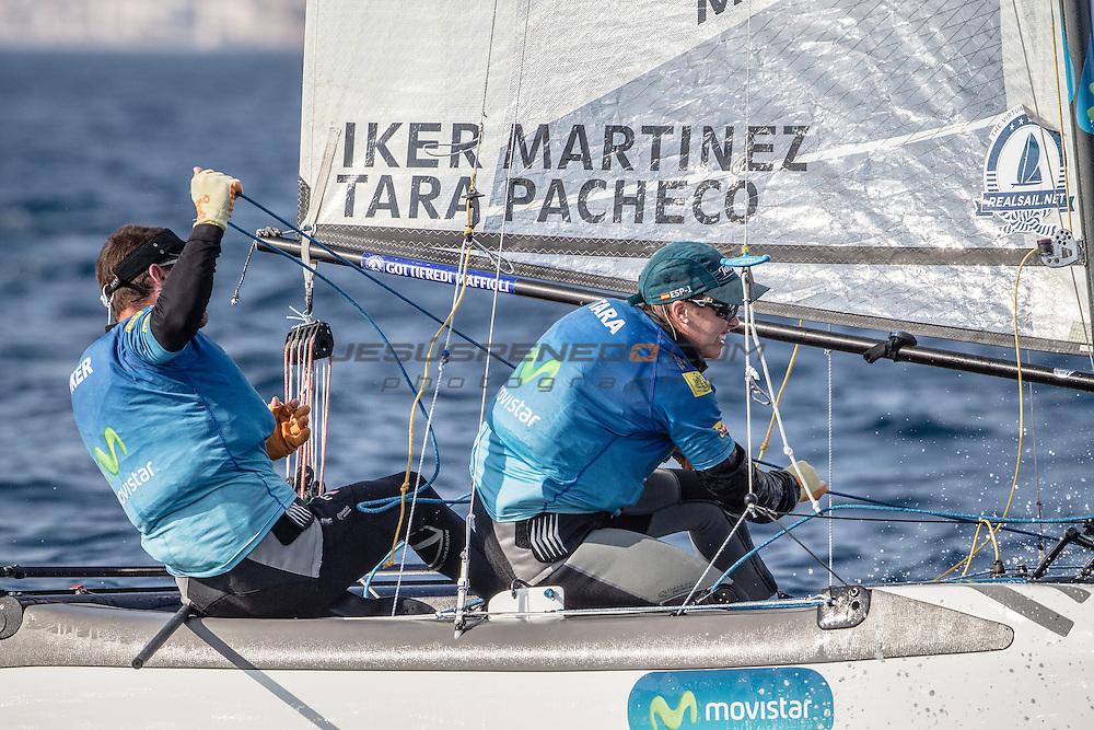 ARENAL TRAINING CAMP 2014. Iker Martinez y Tara Pacheco