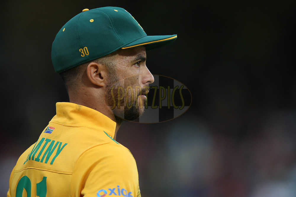 JP Duminy during the First KFC T20 Match between South Africa and England played at Newlands Stadium, Cape Town, South Africa on February 19th 2016