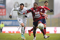 Gregory THIL - 24.01.2015 - Clermont / Chateauroux  - 21eme journee de Ligue2<br />Photo : Jean Paul Thomas / Icon Sport