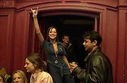 Miss D.. pre-Gumball party. Mayfair Club. London. 25 May 2001. © Copyright Photograph by Dafydd Jones 66 Stockwell Park Rd. London SW9 0DA Tel 020 7733 0108 www.dafjones.com