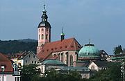 Deutschland, Germany,Baden-Wuerttemberg.Schwarzwald.Baden-Baden, Stiftskirche, Kuppel Friedrichsbad.Black Forest, Baden-Baden, church...