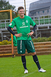 14.07.2011, Platz5, Bremen, GER, 1.FBL, Reha Training Werder Bremen, im Bild guter Hoffnung Sebastian Prödl / Proedl ( Werder #15) // during the trainings session on 2011/07/14.  // during trainingsession from Werder Bremen 2011/07/03    EXPA Pictures © 2011, PhotoCredit: EXPA/ nph/  Kokenge       ****** out of GER / CRO  / BEL ******