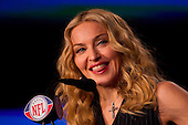 Madonna Super Bowl Press Conf - Indianapolis, IN