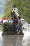 Katie Barber on Daytona Dreamer during the International Horse Trials at Chatsworth, Bakewell, United Kingdom on 12 May 2018. Picture by George Franks.