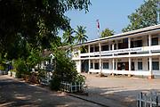 Image of a school, Luang Prabang, Laos.