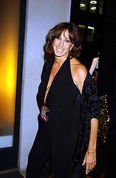 DONNA KARAN at a party to celebrate the first 20 years of fashion label Donna Karan held at her store at 19/20 New Bond Street, London W1 on 21st September 2004.<br /><br />NON EXCLUSIVE - WORLD RIGHTS