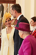 071217 Spanish Royals visit UK - Day 1 - Official Reception