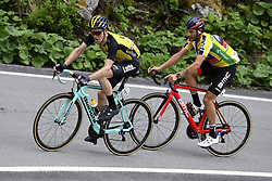 June 15, 2017 - Locarno / La Punt, Suisse - KRUIJSWIJK Steven (NED) Rider of Team Lotto NL - Jumbo, CARUSO Damiano (ITA) Rider of BMC Racing Team during stage 6 of the Tour de Suisse cycling race, a stage of 166 kms between Locarno and La Punt on June 15, 2017 in La Punt, Switserland, 15/06/2017 (Credit Image: © Panoramic via ZUMA Press)