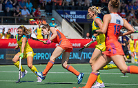 AMSTELVEEN - Marloes Keetels (Ned)   tijdens    de Pro League hockeywedstrijd dames, Nederland-Australie (3-1) COPYRIGHT  KOEN SUYK