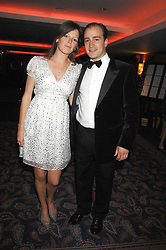 JAMES AMOS and LAURA SCOTT at the 2008 Boodles Boxing Ball in aid of the charity Starlight held at the Royal Lancaster Hotel, London on 7th June 2008.<br /> <br /> NON EXCLUSIVE - WORLD RIGHTS