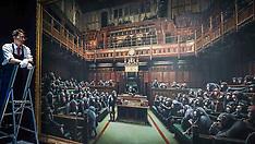 Banksy's Devolved Parliament , London , 27 September 2019