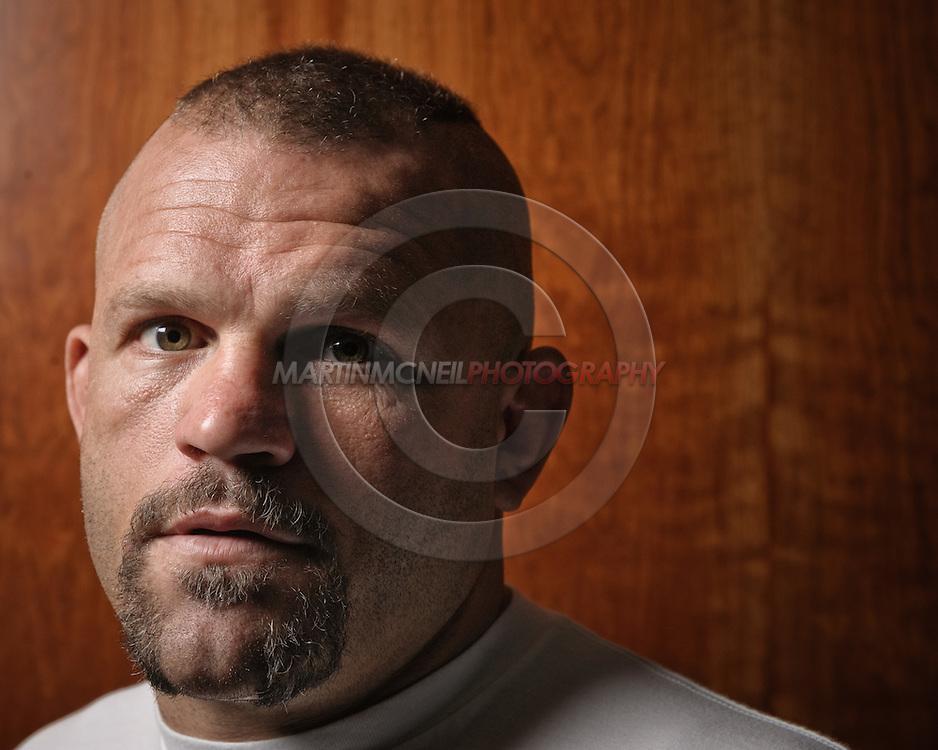 London, United Kingdom, June 5 2008: UFC fighter portrait session