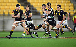 Wellington's Du'Plessis Kirifi against Hawkes Bay in the Mitre 10 Cup rugby match at Westpac Stadium, Wellington, New Zealand, Wednesday, September 06, 2017. Credit:SNPA / Ross Setford  **NO ARCHIVING**