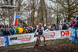 Ian FIELD (58,GBR), 7th lap at Men UCI CX World Championships - Hoogerheide, The Netherlands - 2nd February 2014 - Photo by Pim Nijland / Peloton Photos