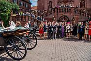 16-9-2017 Amorbach GERMANY wedding of Ferdinand Prinz zu Leiningen, Sohn des Andreas F&uuml;rst zu Leiningen und Alexandra F&uuml;rstin zu Leiningen, Prinzessin von Hannover, Herzogin zu Braunschweig und L&uuml;neburg, and Viktoria Luise Prinzessin von Preu&szlig;en, Spoiler of Disturbances Dr. Friedrich Wilhelm Prinz von Preu&szlig;en und Ehrengard Prinzessin von Preu&szlig;en, born of Reason, was armed on 16 September 2017 in Amorbach. COPYRIGHT ROBIN UTRECHT<br /> <br /> 16-9-2017 Amorbach DUITSLAND huwelijk van Ferdinand Prinz zu Leiningen, Sohn des Andreas F&uuml;rst zu Leiningen und Alexandra F&uuml;rstin zu Leiningen, Prinzessin von Hannover, Herzogin zu Braunschweig und L&uuml;neburg, en Viktoria Luise Prinzessin von Preu&szlig;en, Tochter van verstorbenen Dr. Friedrich Wilhelm Prinz von Preu&szlig;en und Ehrengard Prinzessin von Preu&szlig;en, geboren van Reden, werden op 16 september 2017 in Amorbach heiraten. COPYRIGHT ROBIN UTRECHT