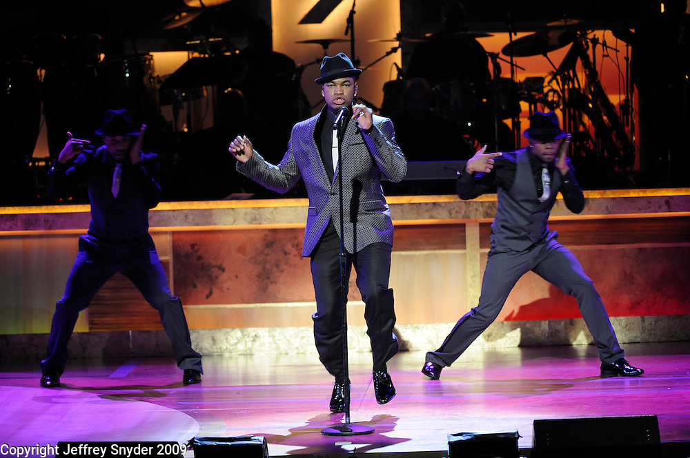 Ne-Yo performs at the 2nd Annual BET Honors