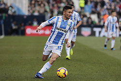 February 10, 2019 - Madrid, Madrid, Spain - CD Leganes's Oscar Rodriguez during La Liga match between CD Leganes and Real Betis Balompie at Butarque Stadium in Madrid, Spain. February 10, 2019. (Credit Image: © A. Ware/NurPhoto via ZUMA Press)