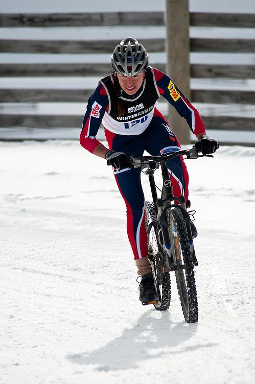 Justyna Kowalczyk (Poland), Winter Triathlon, Winter Games, Snowfarm, Saturday August 27, 2011...Photo by Mark Tantrum | www.marktantrum.com