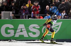 04.01.2012, DKB-Ski-ARENA, Oberhof, GER, E.ON IBU Weltcup Biathlon 2012, Staffel Frauen, im Bild Magdalena Neuner (GER) .// during relay Ladies of E.ON IBU World Cup Biathlon, Thüringen, Germany on 2012/01/04. EXPA Pictures © 2012, PhotoCredit: EXPA/ nph/ Hessland..***** ATTENTION - OUT OF GER, CRO *****