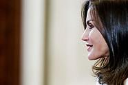 062719 Queen Letizia attends audiences at Zarzuela Palace